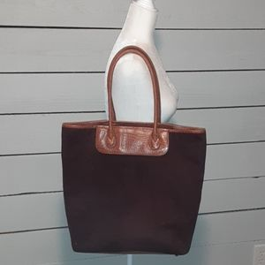 Coldwater Creek Large Suede Bag